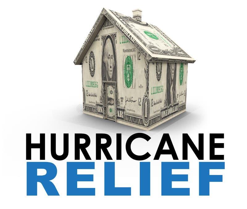 Relevo do furacão imagem de stock royalty free