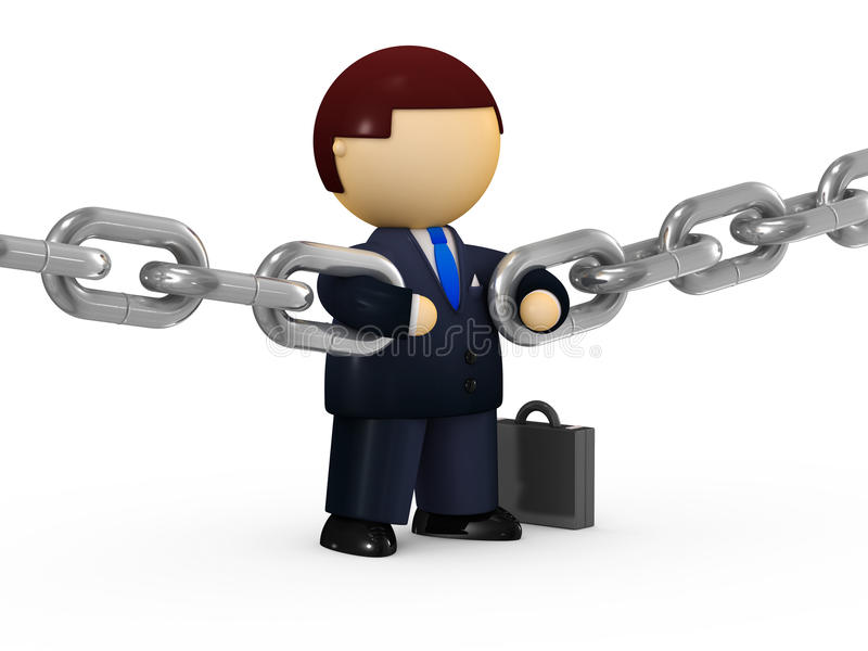 Download Reliability concept stock illustration. Image of chain - 13544505