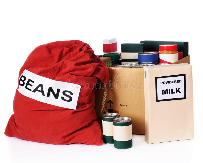 Relief Food stock photo