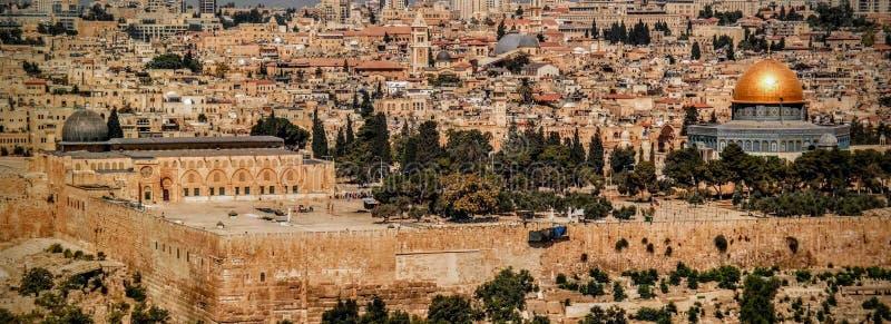 Religião Palestina Israel da rocha da abóbada do Jerusalém fotos de stock royalty free