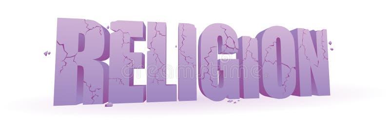 Religión que desmenuza libre illustration