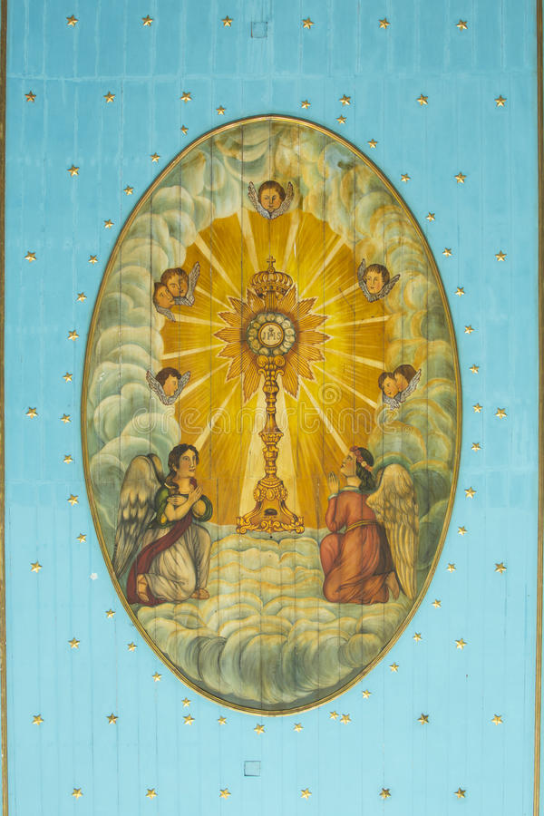 Religiös konst i Maceio arkivfoton