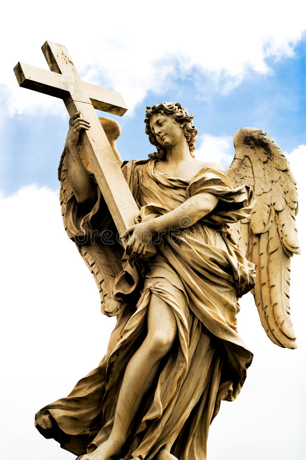 religiös rome staty royaltyfri fotografi