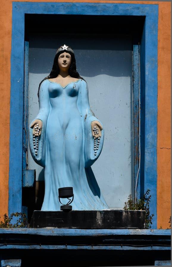 Religiös symbol i Montevideo arkivfoto