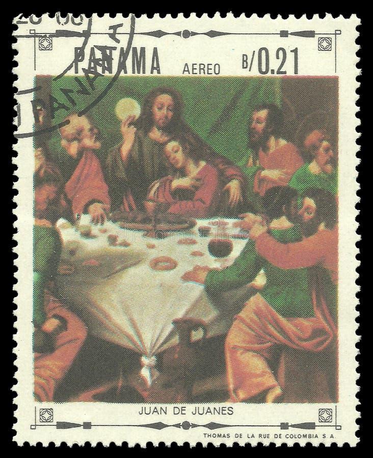 Religiösa målningar av Juan de Juanes royaltyfria foton