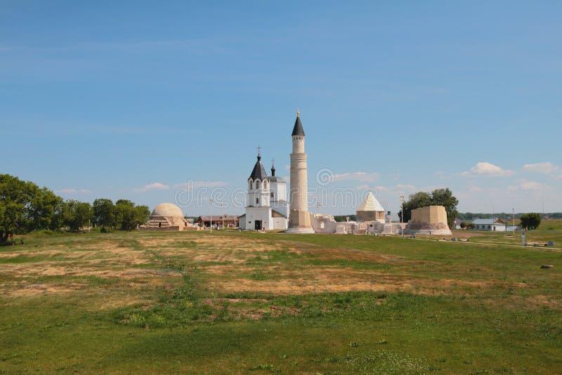 Religiösa monument av 13-18th århundraden Bulgariska Ryssland royaltyfri bild