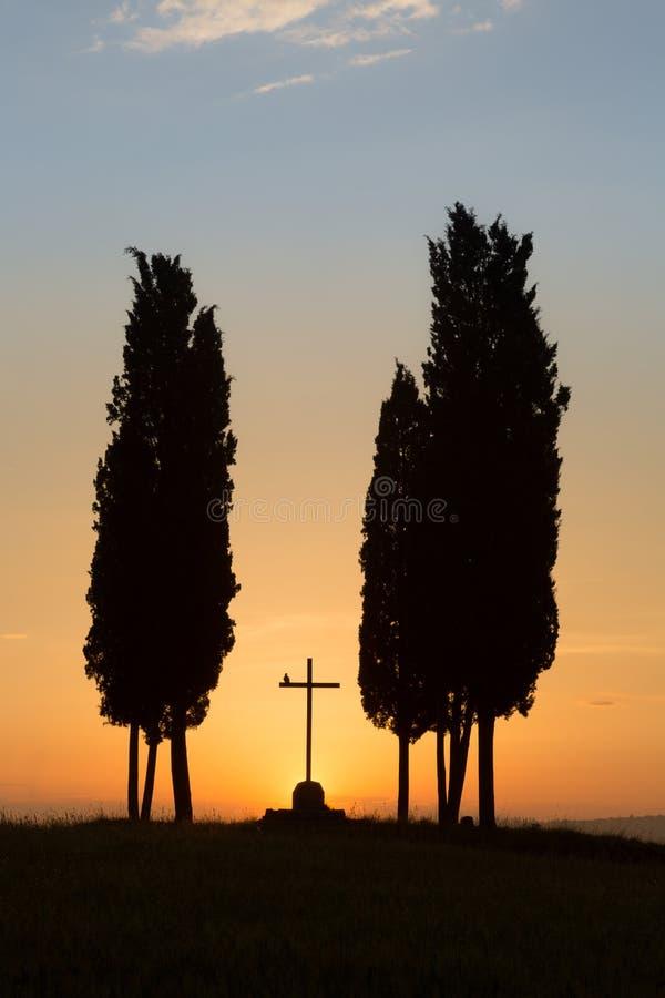 religiösa tuscany royaltyfri fotografi
