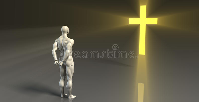 Religiöse Beratung vektor abbildung