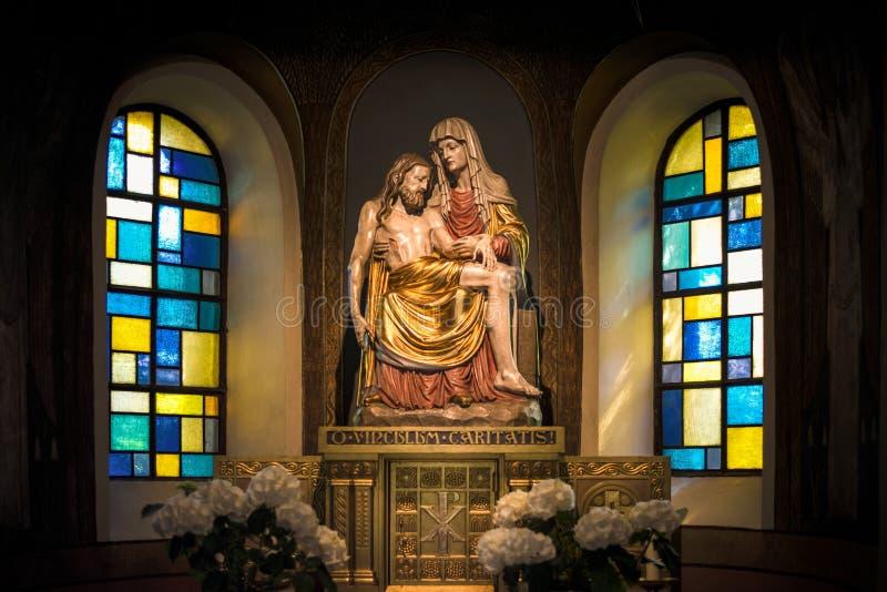 Religiöse Figur stockbild