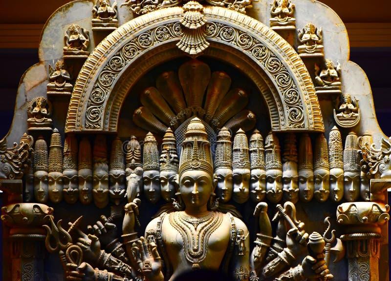 Religiöst fotografi för skulpturbakgrundsmateriel royaltyfri bild