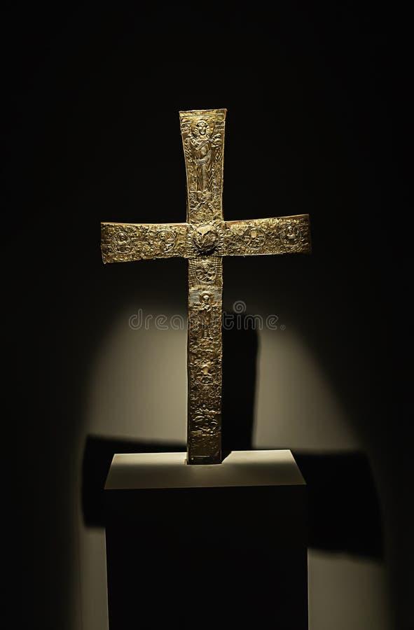 Religiöst kors för kristendomen royaltyfri foto