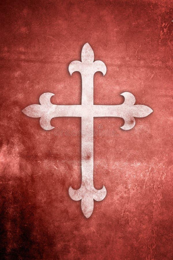 religiöst seriesymbol för kristendomen stock illustrationer