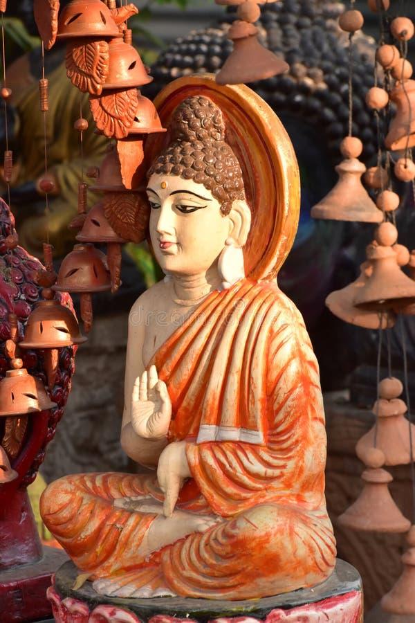 Religiöst skulpturmaterielfotografi royaltyfria bilder