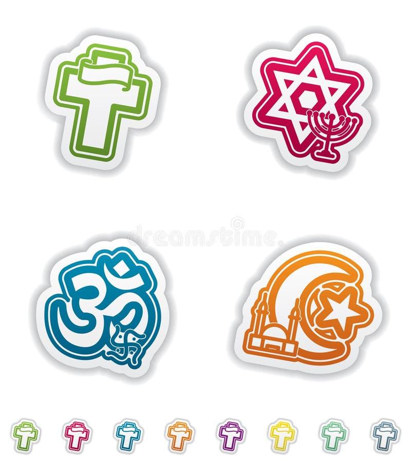 Religia royalty ilustracja