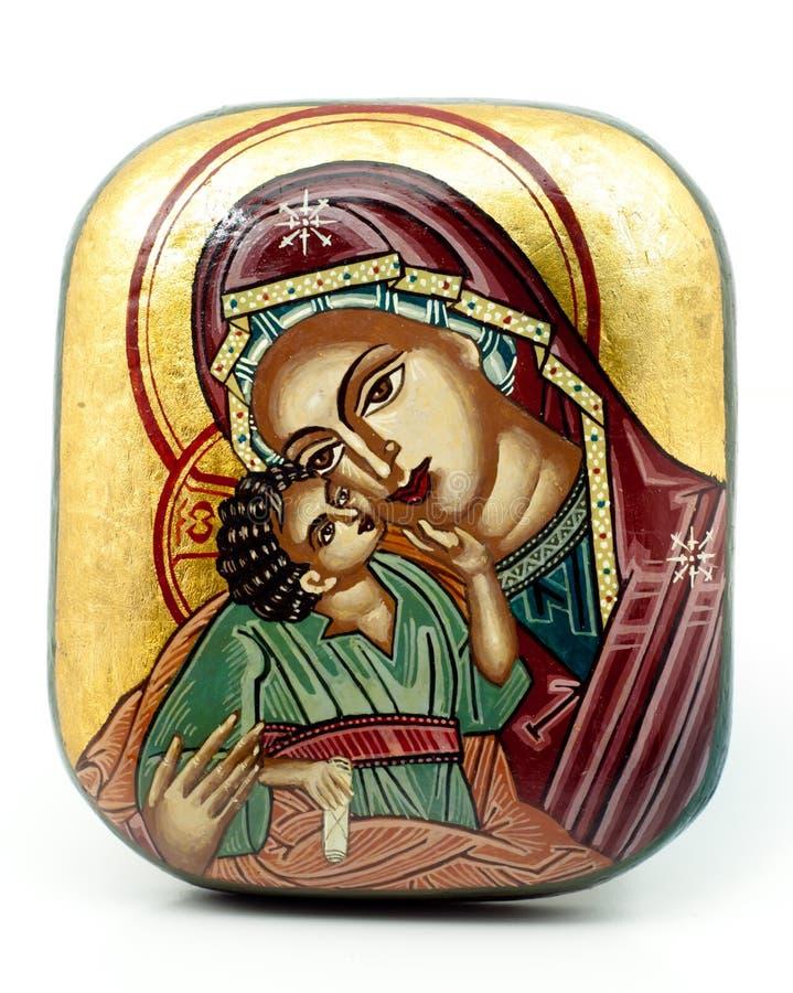 religijna antykwarska ikona fotografia stock