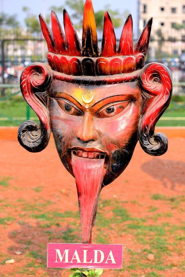 Religijna maska zdjęcia royalty free
