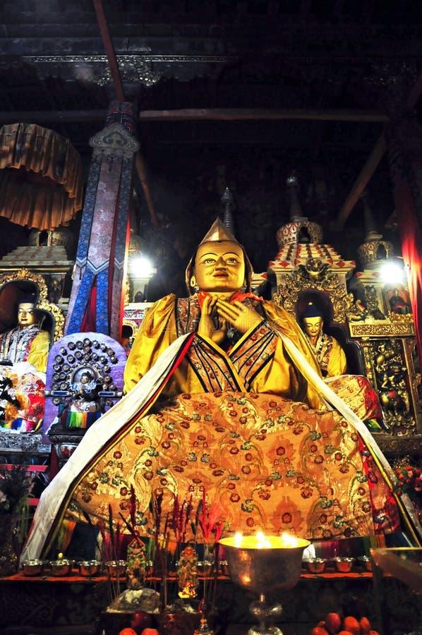 Download Religijna Statua W Drepung Monasterze Obraz Editorial - Obraz złożonej z dosłownie, historyczny: 53775465