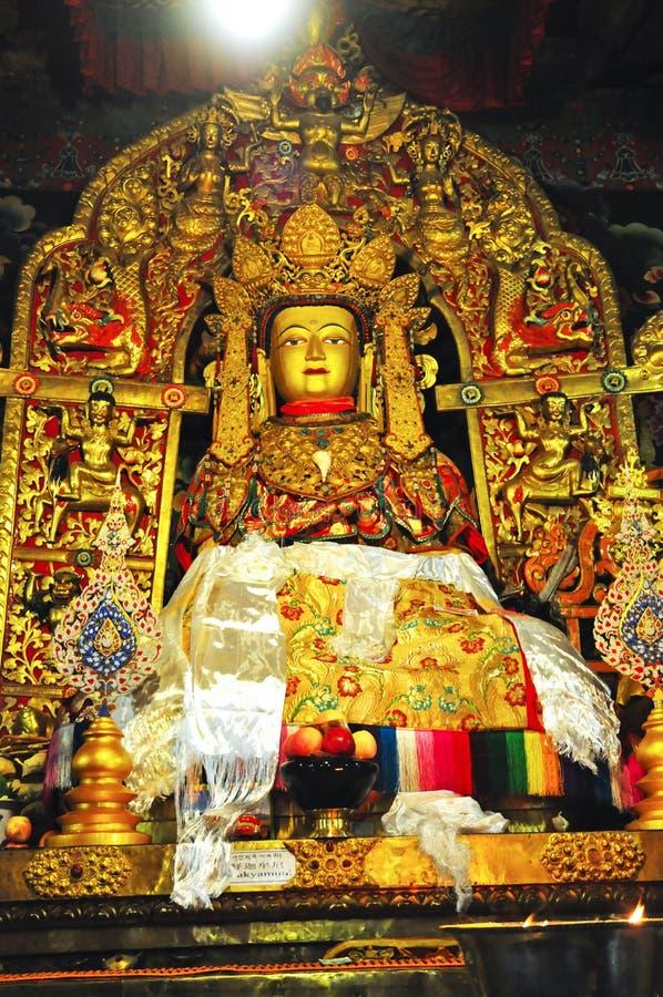 Download Religijna Statua W Drepung Monasterze Zdjęcie Stock Editorial - Obraz złożonej z książka, ryż: 53775478
