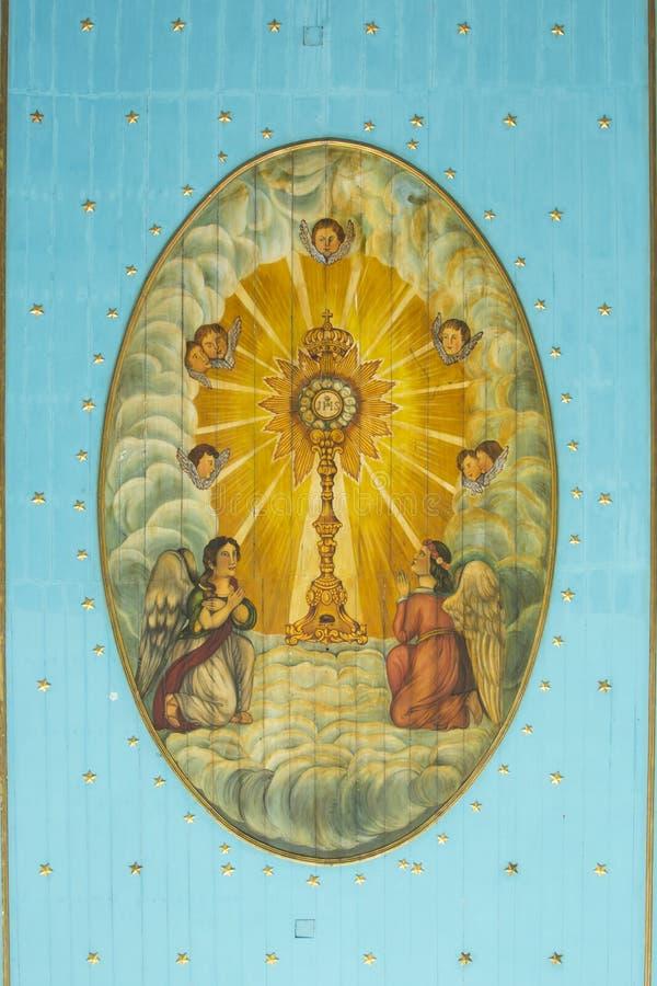 Religijna sztuka w Maceio zdjęcia stock