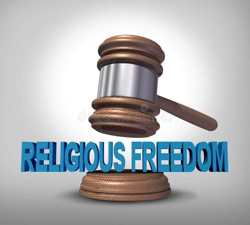 Religijna wolność ilustracja wektor