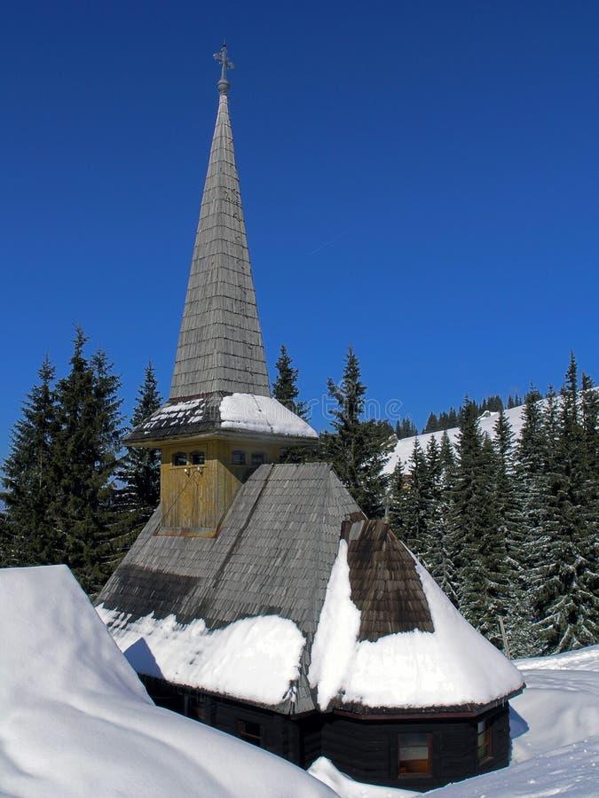 religijna zima zdjęcie stock