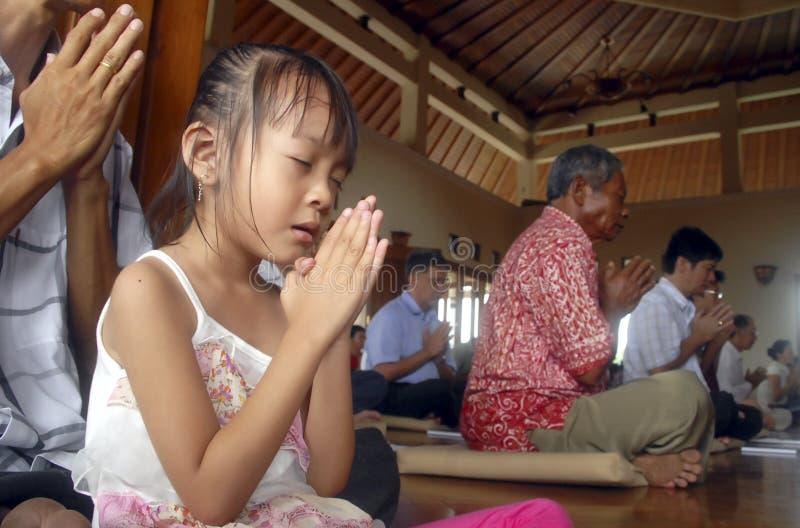 RELIGIJNE mniejszości INDONEZJA obraz royalty free
