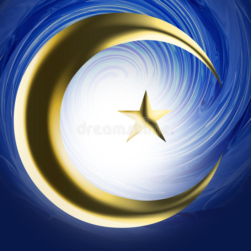 religijny Islamu symbol zdjęcie stock