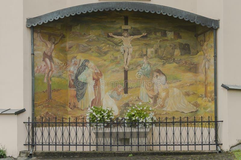 Religijny obraz obraz stock