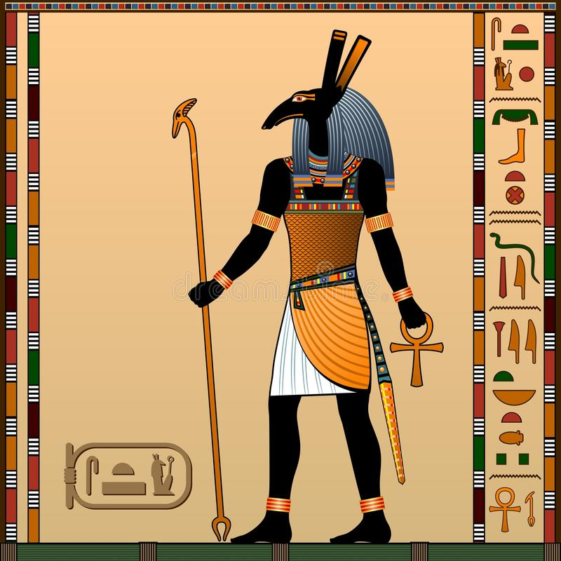Religion Of Ancient Egypt. Stock Vector. Illustration Of