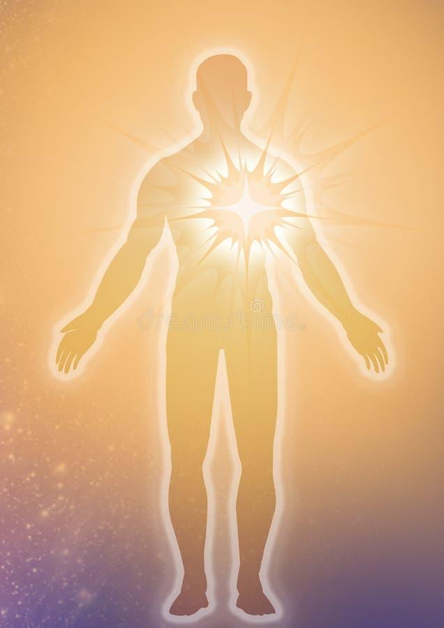 Download Religion Concept stock illustration. Image of love, illuminate - 11671623