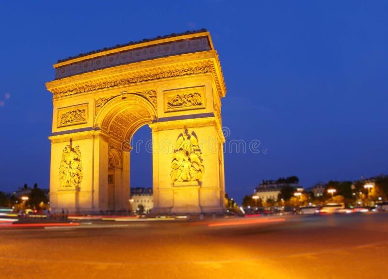Religion de lumiere de ciel de monument de Paris photo stock