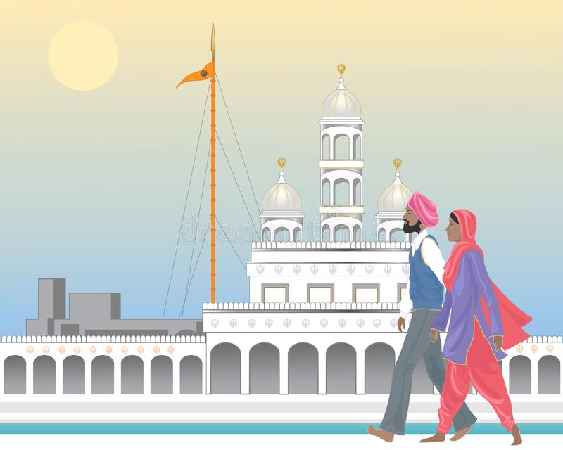 Religion de Punjabi illustration libre de droits