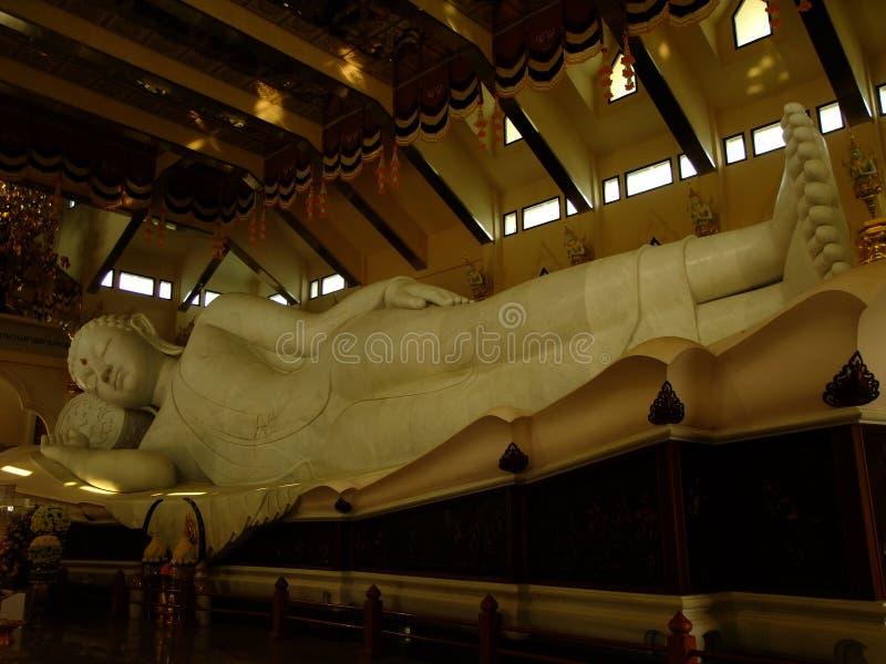 Religion de temple de watpaphukon d'Udontani photographie stock