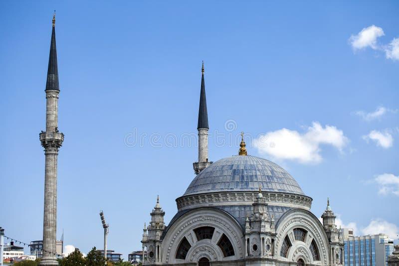 Religion för symbol för moskébyggnadsislam arkivbild