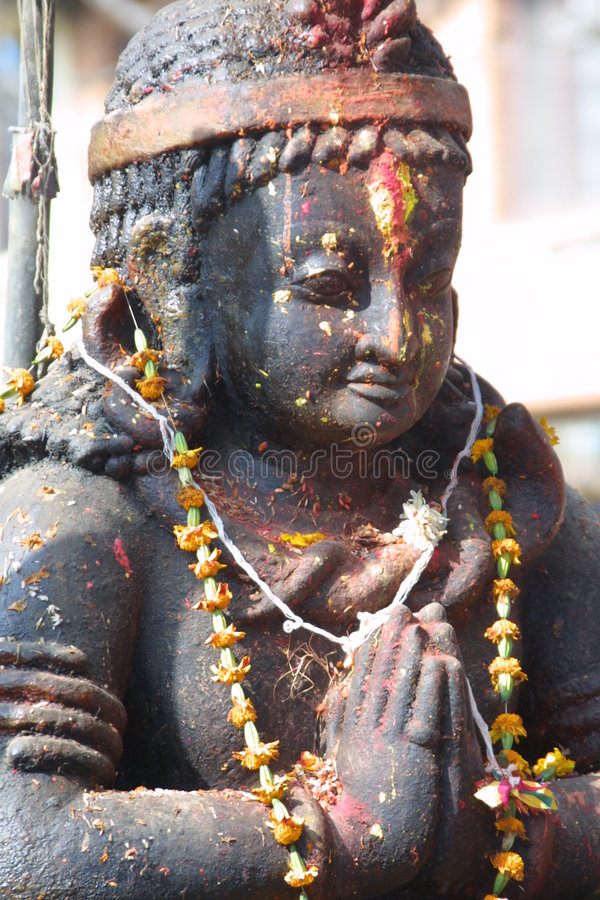 Religion Figure - Nepal Royalty Free Stock Photo