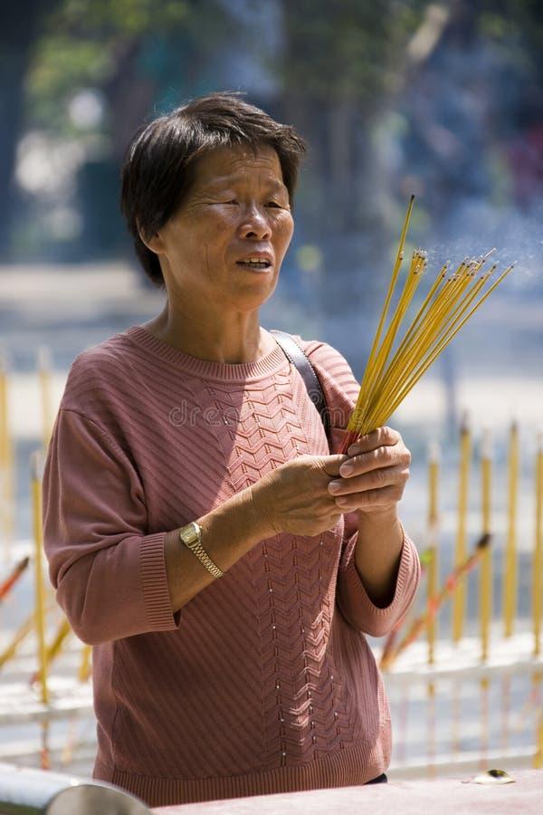 Religion - Hong Kong royalty free stock photo
