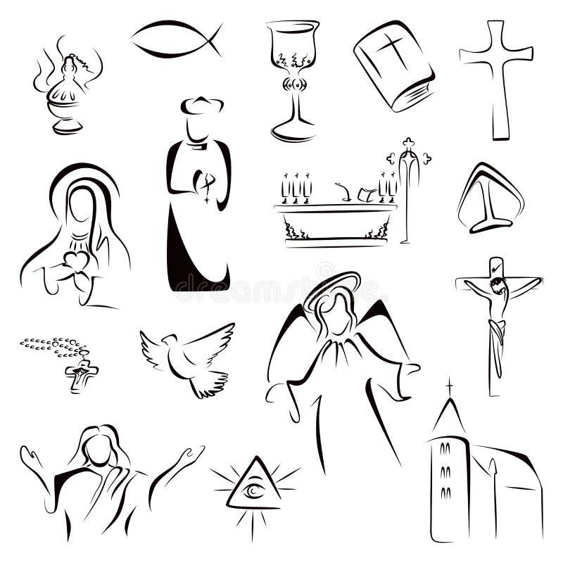 Catholic Symbols Demirediffusion