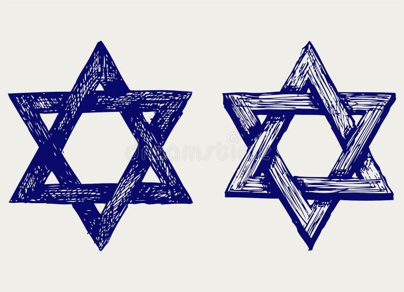 Religion judaïque illustration libre de droits