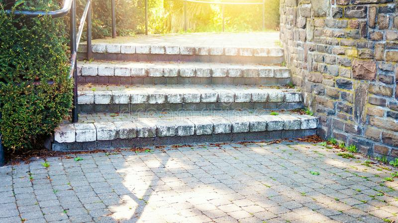 Way to heaven . Religious background . Way to success royalty free stock image