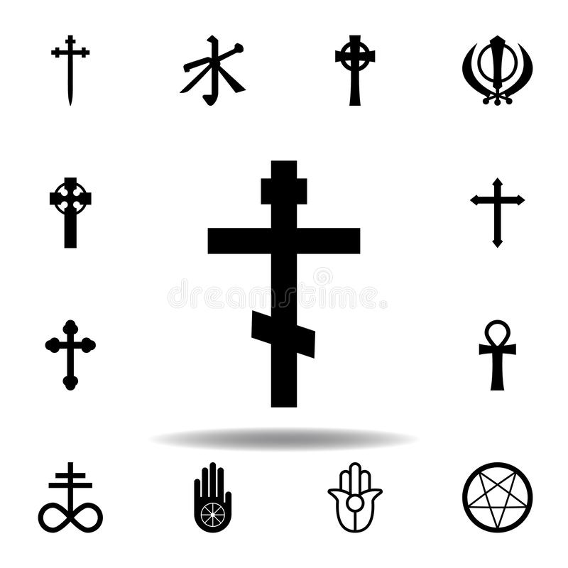 Religion symbol, Christianity icon. Element of religion symbol illustration. Signs and symbols icon can be used for web, logo,. Mobile app, UI, UX on white vector illustration