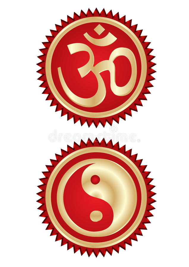 Download Religion symbols stock vector. Image of arts, chinese - 11125216