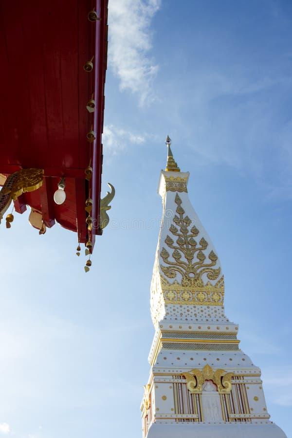 Religion,travel,thailand. Phra That Phanom chedi, attractions in Nakhon Phanom, Thailand royalty free stock image