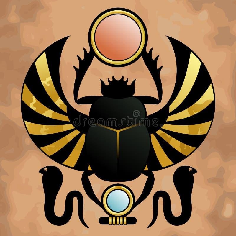 Religion von altem Ägypten vektor abbildung