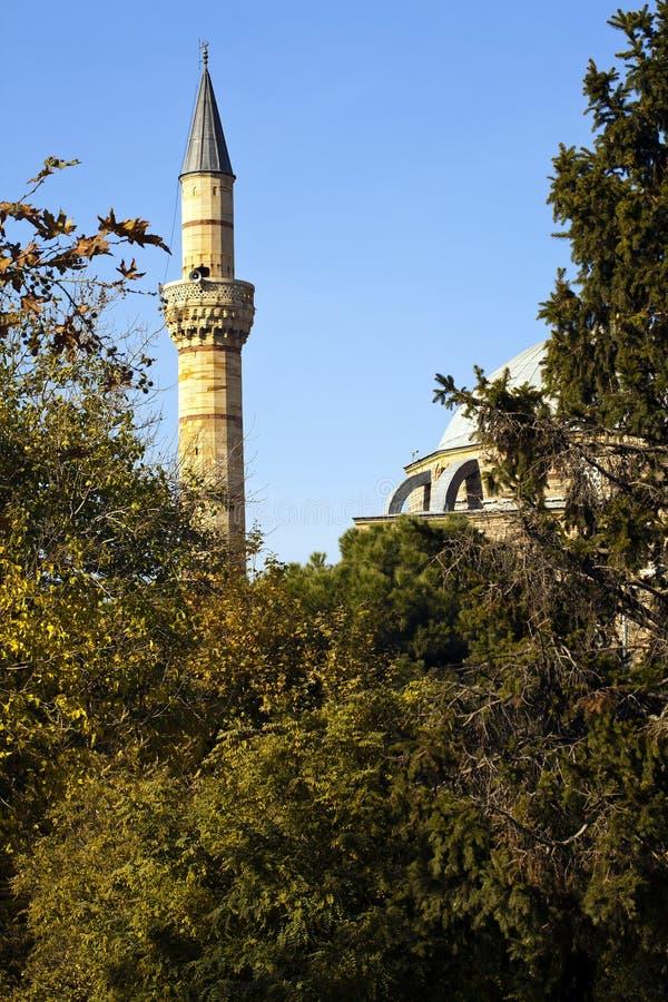 Religione di simbolo di Islam della costruzione della moschea fotografia stock libera da diritti