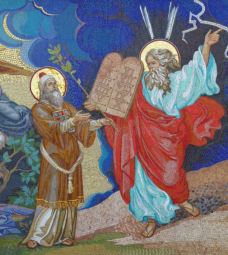 Religione mosaico Chiesa ortodossa in Kirowograd Ucraina fotografie stock