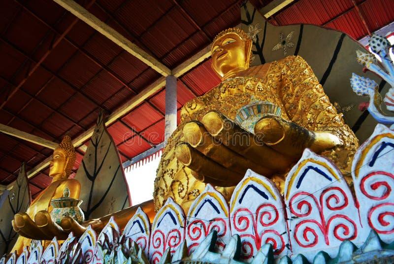Religione Tailandia di Wat Somdej Buddhist del tempio fotografia stock