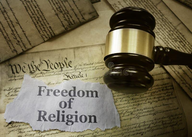 Religionsfrihetbegrepp arkivbild