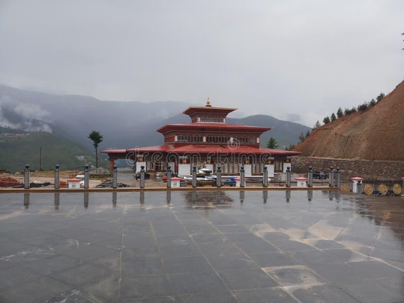 Religious Bhutanese structure stock photos