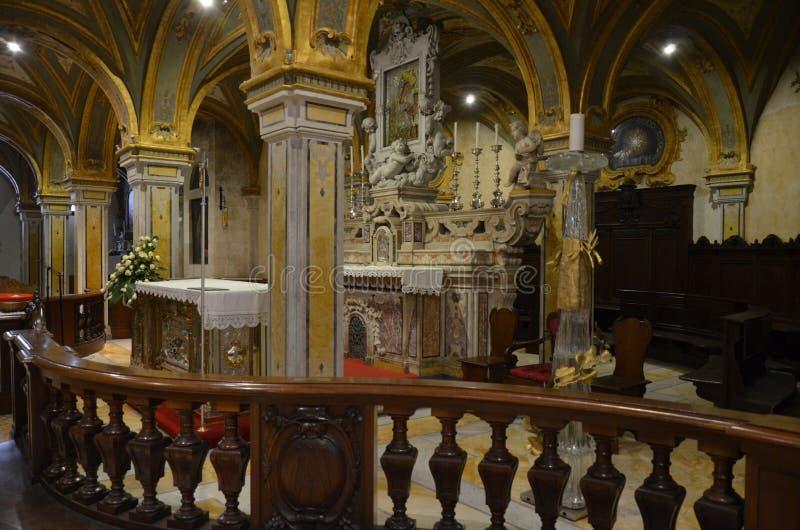 Bari, Italy 10.01.2015: The religious buildings of Bari stock photos