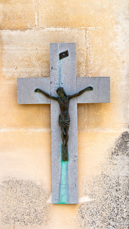 Religious cross royalty free stock photos